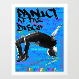 Panic! AtTheDisco Art Print