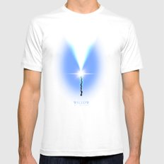 Willow. A Fan Film Poster White MEDIUM Mens Fitted Tee