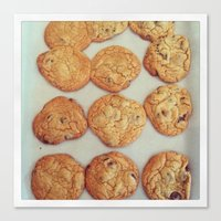 cookies Canvas Prints featuring Cookies by Yellow Barn Studio