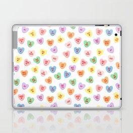 Conversation Hearts Laptop & iPad Skin