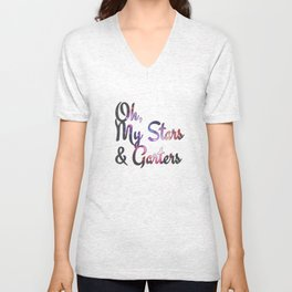 Oh, my stars and garters Unisex V-Neck
