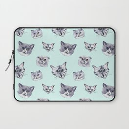 Some grey cats Laptop Sleeve