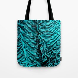 Turquoise Twosome Tote Bag