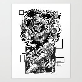 it came from the stars. Art Print