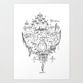 Happiness 01 Art Print