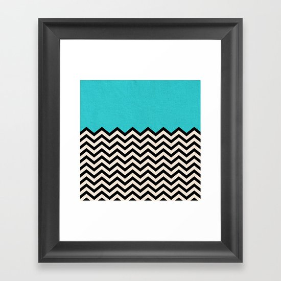 Follow the Sky Framed Art Print