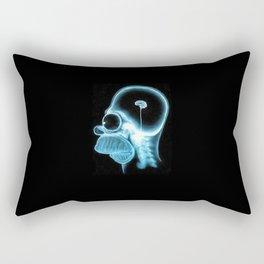 Homer Brain Rectangular Pillow