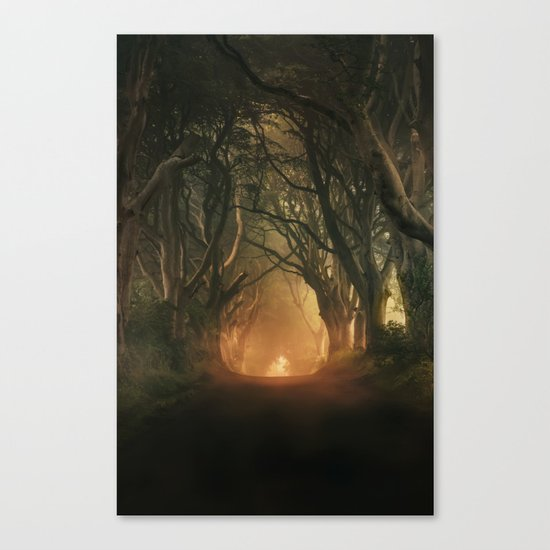When the day begins... Canvas Print