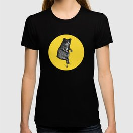Ride On Bear_yellow T-shirt