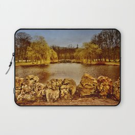 Castle Wilhemsthal - Castle Park in the evening Laptop Sleeve