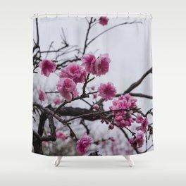 Sakura IV Shower Curtain