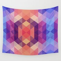 brand new Wall Tapestries featuring Brand new day by marcegaral