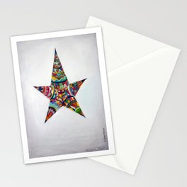 Latin American star. Stationery Cards
