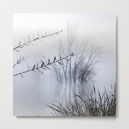 Lost in the foggy Mammoth Paradise Metal Print