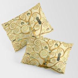 Gustav Klimt The Tree Of Life Pillow Sham