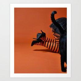 spooky booties Art Print