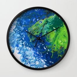 Seaspray Wall Clock