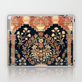 Kashan Poshti  Antique Central Persian Rug Print Laptop & iPad Skin