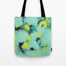 Marble green Tote Bag