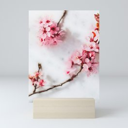 Cherry pink blossoms watercolor painting #15 Mini Art Print