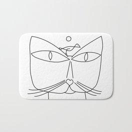Paul Klee - Cat and Bird Bath Mat