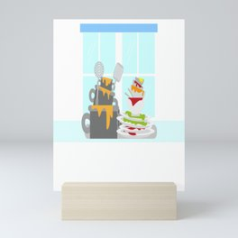 National Clean Up Day Mini Art Print