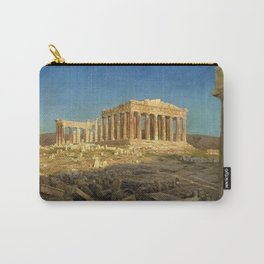 12,000pixel-500dpi - Frederic Edwin Church - The Parthenon - Digital Remastered Edition Carry-All Pouch