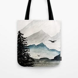 Mountains Majesty Tote Bag