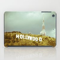 hollywood iPad Cases featuring Hollywood by Umbrella Design