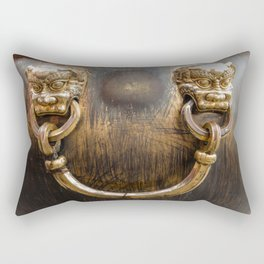 Chinese Water Cistern Rectangular Pillow