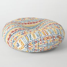 Multicolore Boho Style Artwork 7 Floor Pillow