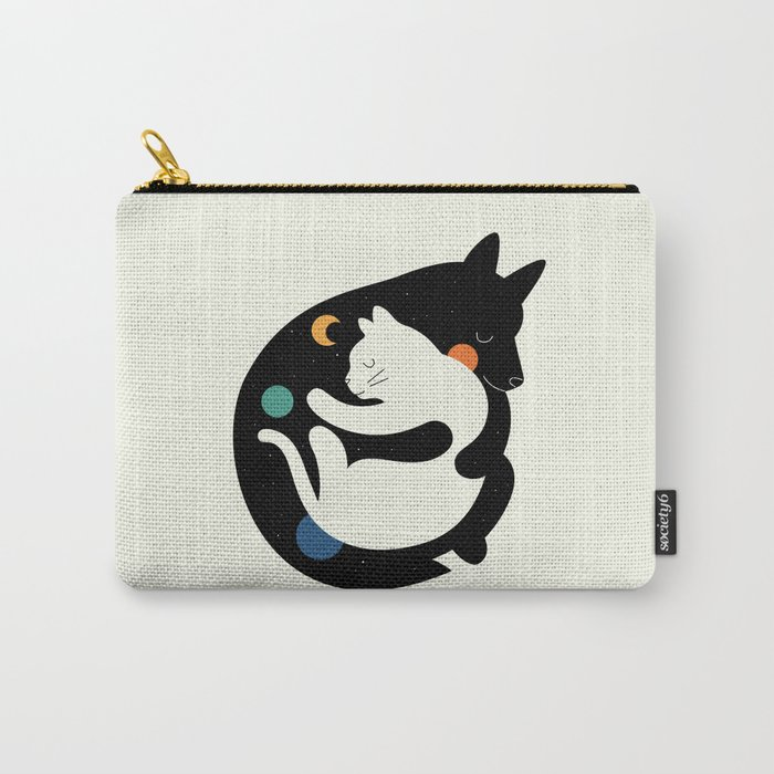 More Hugs Less Fights Carry-All Pouch