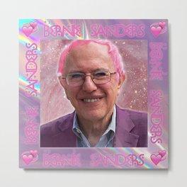Bernie Sanders is Kawaii Metal Print