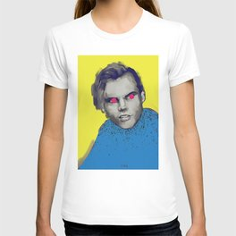 Party Tim, POP art style, digitally painted T-shirt