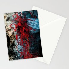 heart ache Stationery Cards
