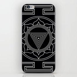 Kali yantra black symbol iPhone Skin