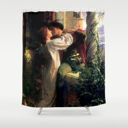 Frank Dicksee - Romeo and Juliet Shower Curtain