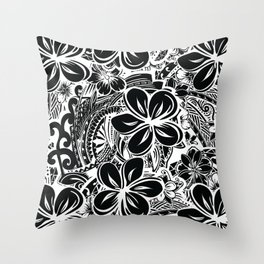 Savaii Polynesian Tribal Throw Pillow