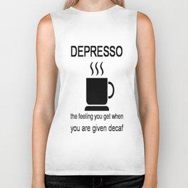 Depresso Biker Tank