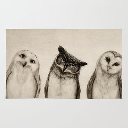 The Owl's 3 Rug
