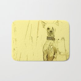 Chinese crested 23 Bath Mat