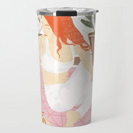Yoga + Pizza Travel Mug