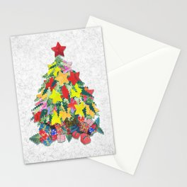 Santa's Work is Done Stationery Cards