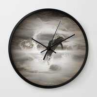 dolphin Wall Clocks featuring Dolphin by nicky2342