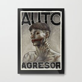 Auto Agresor Metal Print