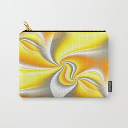Turn Around (yellow) Carry-All Pouch