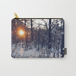 sunset of this winter Carry-All Pouch