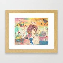 Second Framed Art Print