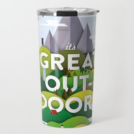 It's Great Outdoors Travel Mug