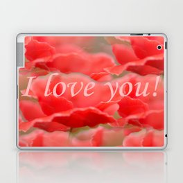 Love You! Red Poppies #decor #society6 Laptop & iPad Skin